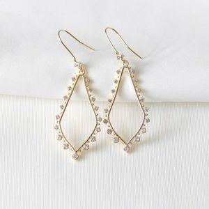 Kendra Scott Bea Drop Earrings In Gold